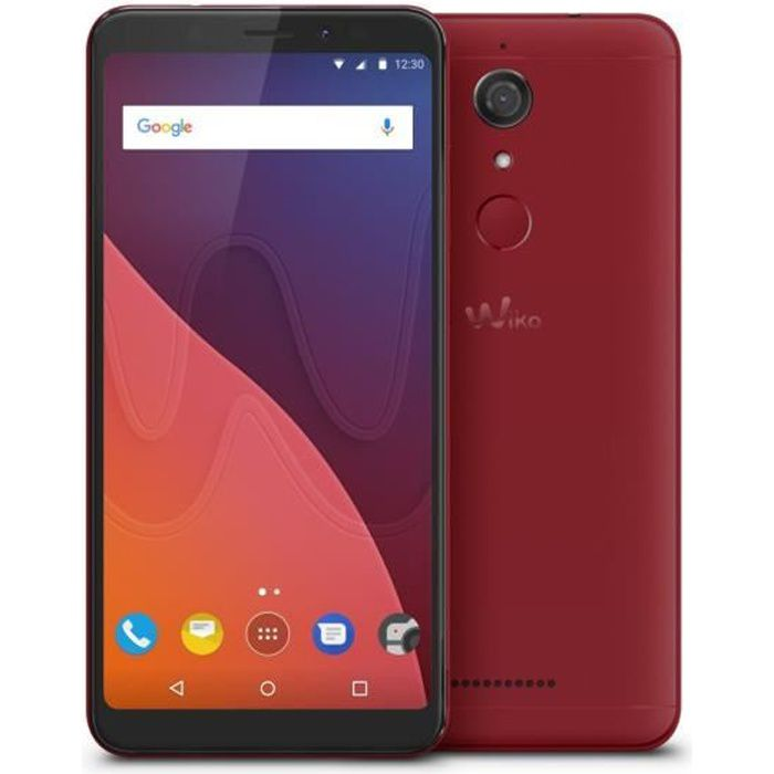 Wiko View 16 Go Cherry Red