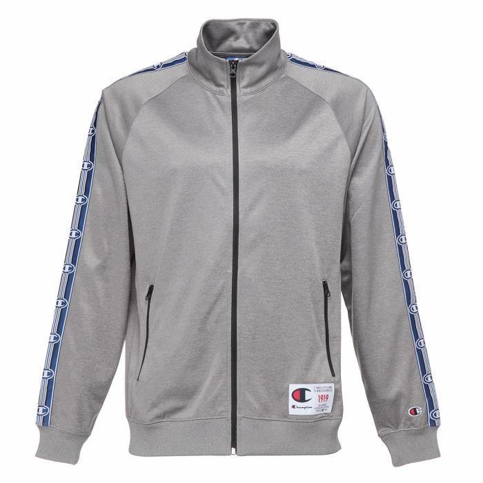 CHAMPION Sweatshirt zippé - Homme - Gris