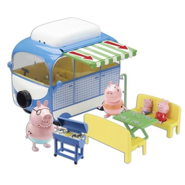 PEPPA PIG le Camping-Car + 4 Personnages