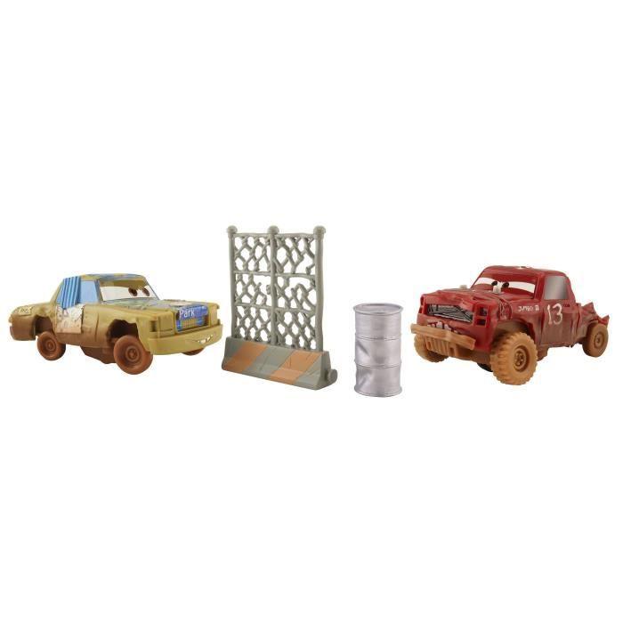 CARS 3 - Super-Huit Pack De 2 Véhicules T-Bone & Jimbo