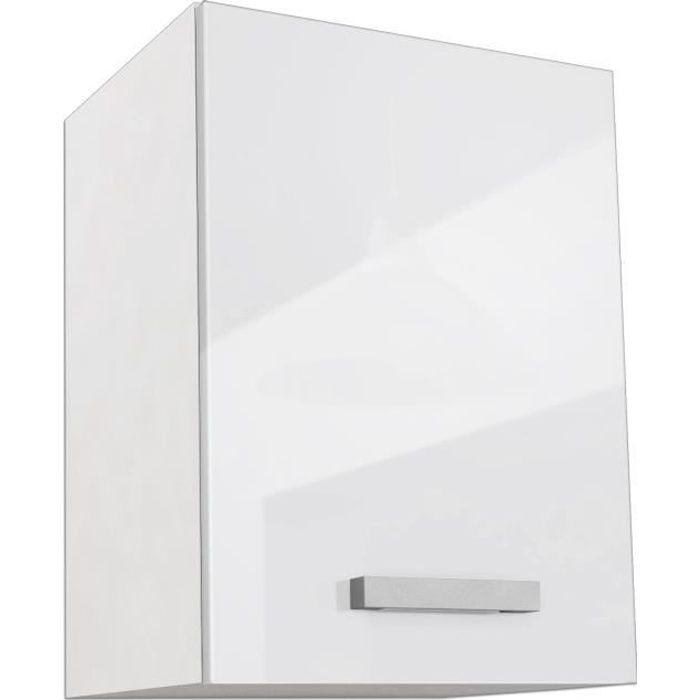 START Caisson haut de cuisine L 40 cm - Blanc Brillant