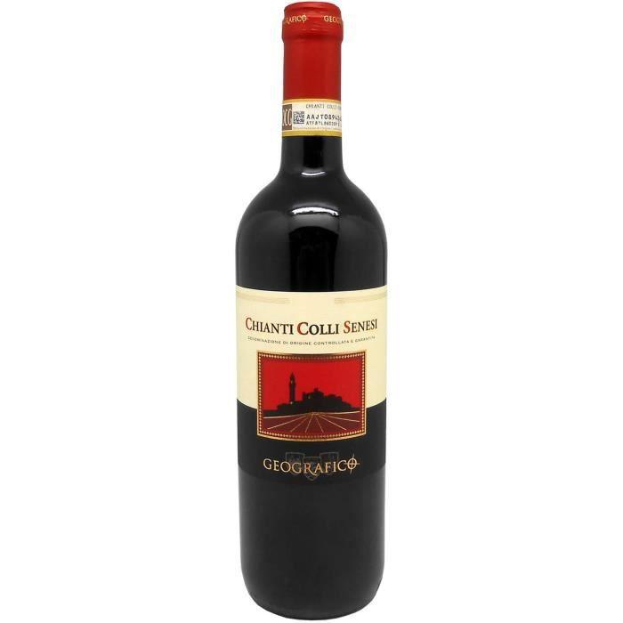 CONTESSA DI RADDA GEOGRAFICO 2016 Chianti Colli Senesi Vin d'Italie 75 cl - Rouge - DOCG