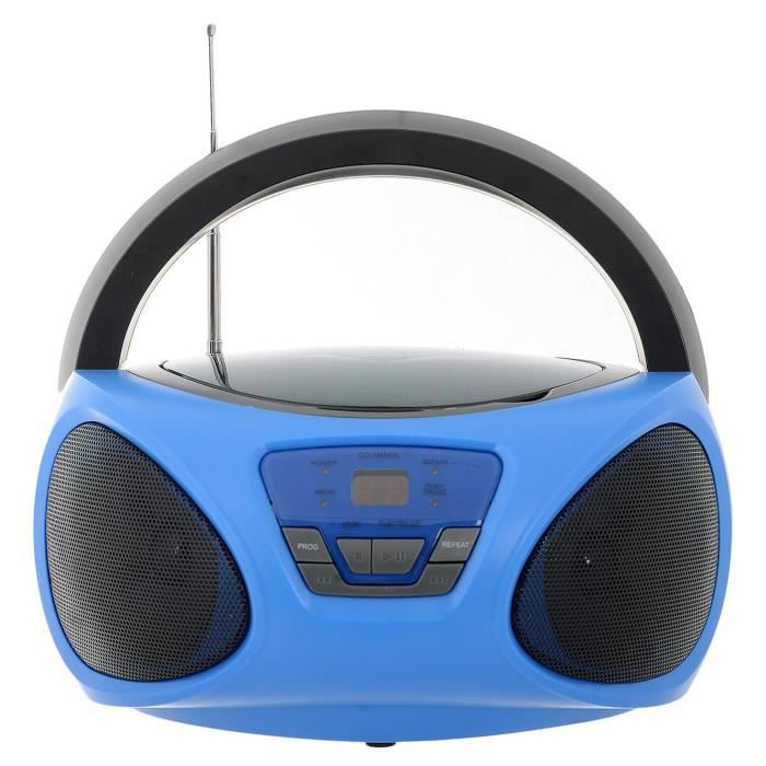 BATMAN VS SUPERMAN Boombox CR1-02394-INT - Radio-réveil et lecteur CD - Gris