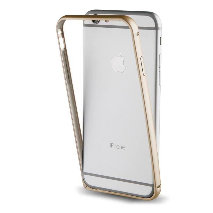 Muvit Bumper Or pour Apple iPhone 7