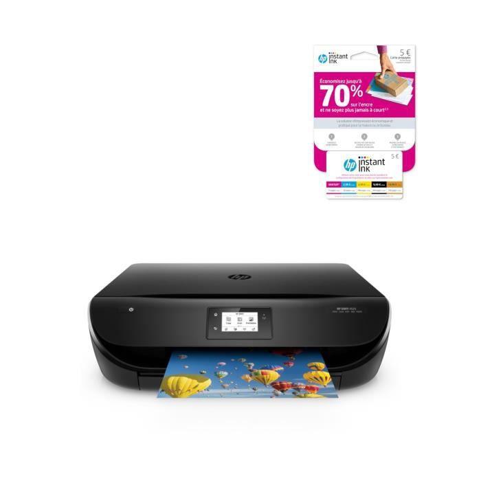 HP Imprimante Envy 4525 + Carte Instant Ink crédit de 5€ sur votre compte