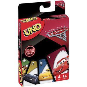 UNO - Jeux de cartes Cars 3