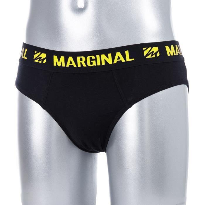 MARGINAL Boxers Homme Uni - JauneBOXER - SHORTY
