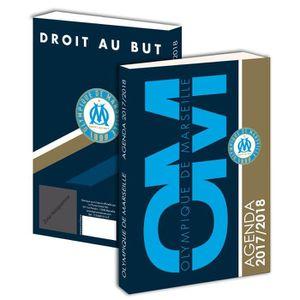 OLYMPIQUE DE MARSEILLE Agenda Scolaire - Adolescent - 12x18cm - Bleu - Enfant Garçon
