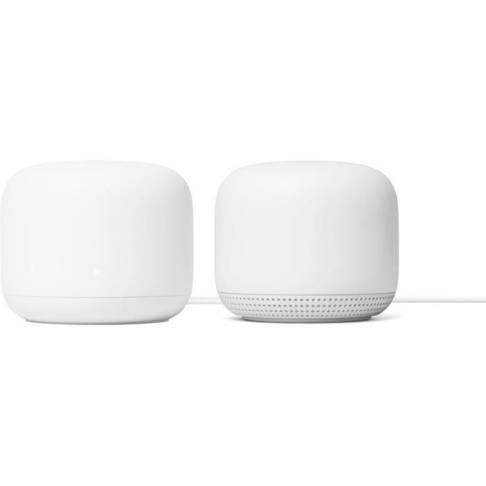 Routeur Google Nest Wifi + Point d'accès
