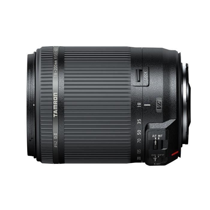 TAMRON 18-200 mm F/3.5-6.3 Di II VC NIKON - Pour appareil photo numérique Reflex