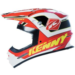 KENNY Casque Cross Track Rouge Noir