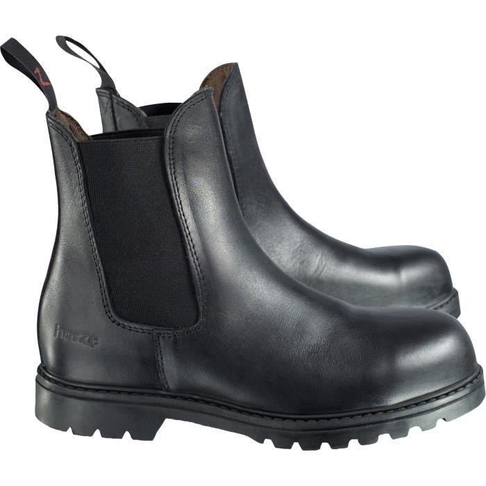 HORZE Boots d'équitation Jodhpurs de sécurité - junior - noir
