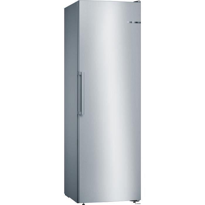BOSCH GSN36VL3P - Congélateur armoire - 242 L - Froid no frost multiairflow - A++ - L 60 x H 186 cm