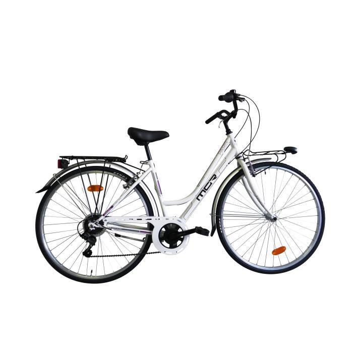 MGR Vélo de ville Paris - Femme - Blanc
