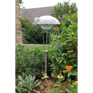 GALIX Lanterne LED solaire en inox
