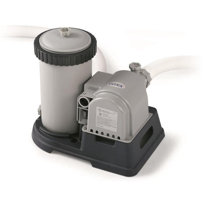 INTEX Filtre épurateur à cartouche 9,5m³/h (C9,5)