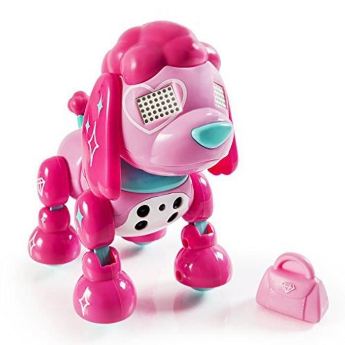 ZOOMER Robot Chien Zuppies Love Glam Spinmaster