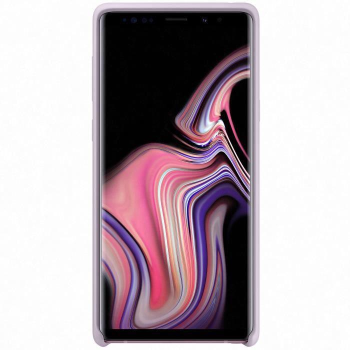 Samsung Coque Silicone Note9 - Lavande