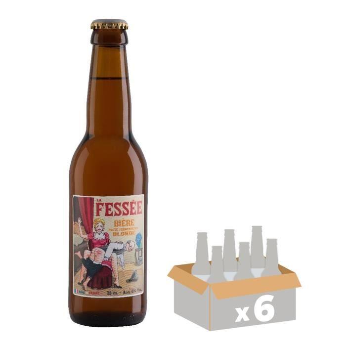 Lot de 6 La féssée - Bière - Ambrée - 0,33 LBIERE