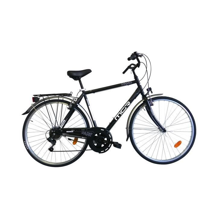 MGR Vélo de ville Paris - Homme - Noir