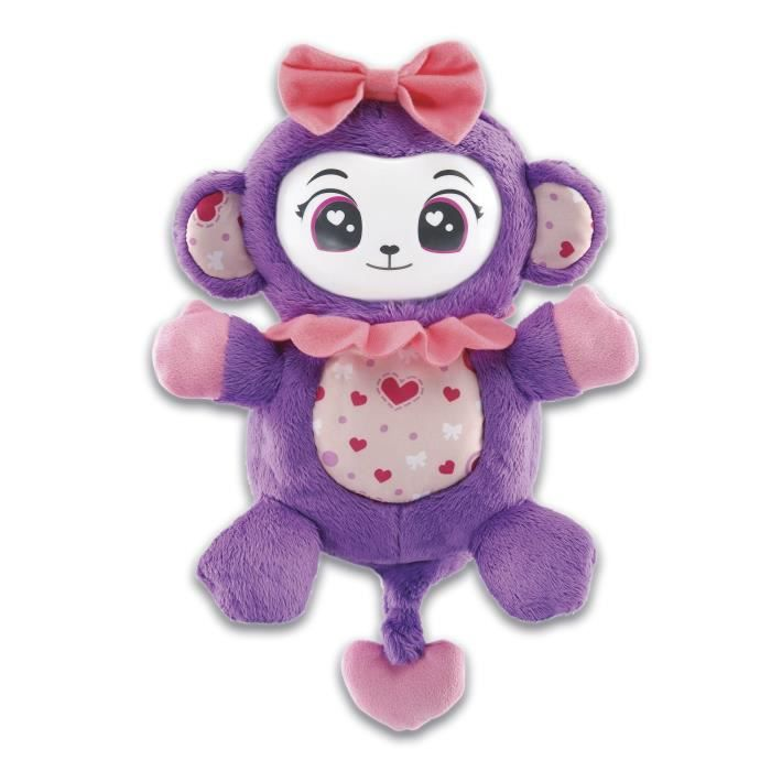 VTECH - Monki Pop - Singe Interactif - Violet
