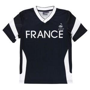 FFF Equipe de France T-shirt Supporter Enfant Garçon FTL