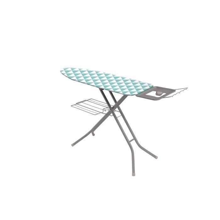 FINLANDEK Table à repasser Lokka classique 120x38 cm bleu et blanc