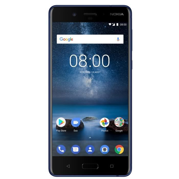 Nokia 8 Bleu