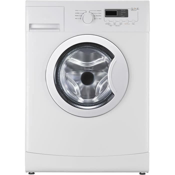 CONTINENTAL EDISON CELL610SLIM - Lave linge frontal - 6 kg - 1000 trs / min - A++