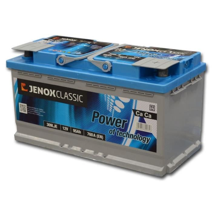 pieces batterie vehicule jenox. Black Bedroom Furniture Sets. Home Design Ideas