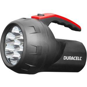 DURACELL Lampe torche LED étanche 70 lm portée 100 m noir