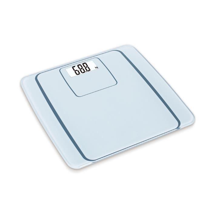 OGO 7920020 Pèse-personne avec plateau en verre Apollon - Avec connexion Bluetooth