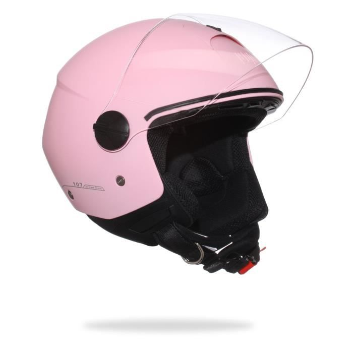 CGM 107A Florence Casque Jet Rose Pastel