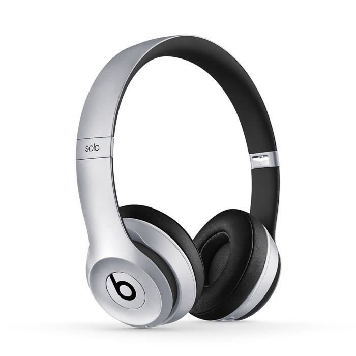 BEATS Solo 2 Wireless Casque audio bluetooth gris sidéral