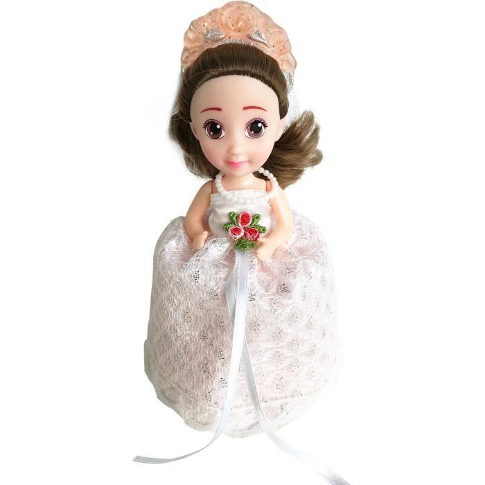 Cupcake Surprise Mariage Poupée parfumée Lucie