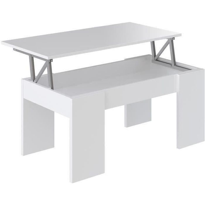 Table basse relevable vente discount for Table basse chez but