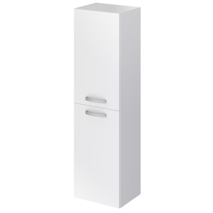 STELLA Colonne de salle de bain L 40 cm - Blanc mat