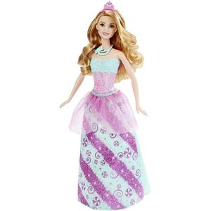 BARBIE Princesse Multicolore Bonbons