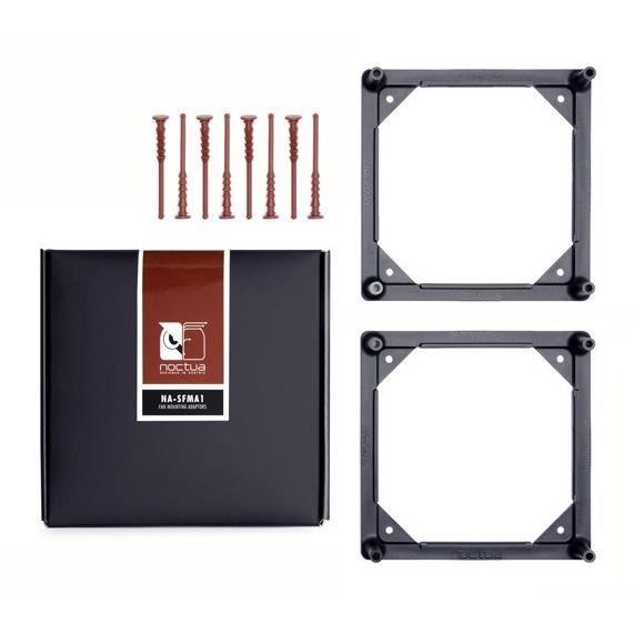 NOCTUA 2 x Adapteurs pour fixation de ventilateurs - Compatible avec NF-A12 x 25