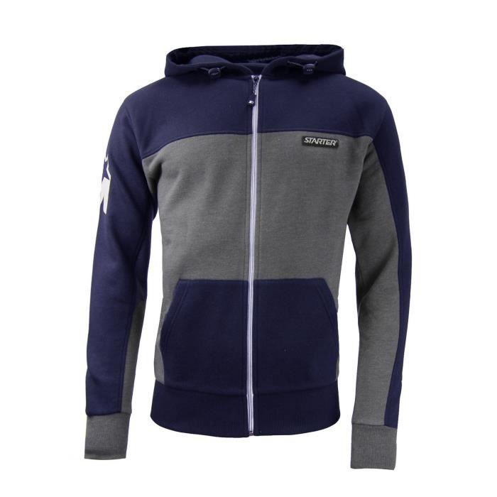 STARTER Sweatshirt Zippé Homme