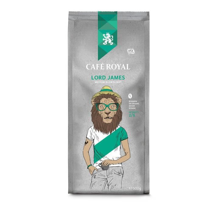 CAFE ROYAL Café en Grains Lord James - 500 g