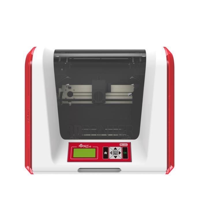 XYZ Printing Imprimante 3D Da Vinci Junior 2.0 MIX - 1 Buse - WIFI - 2 couleurs - PLA