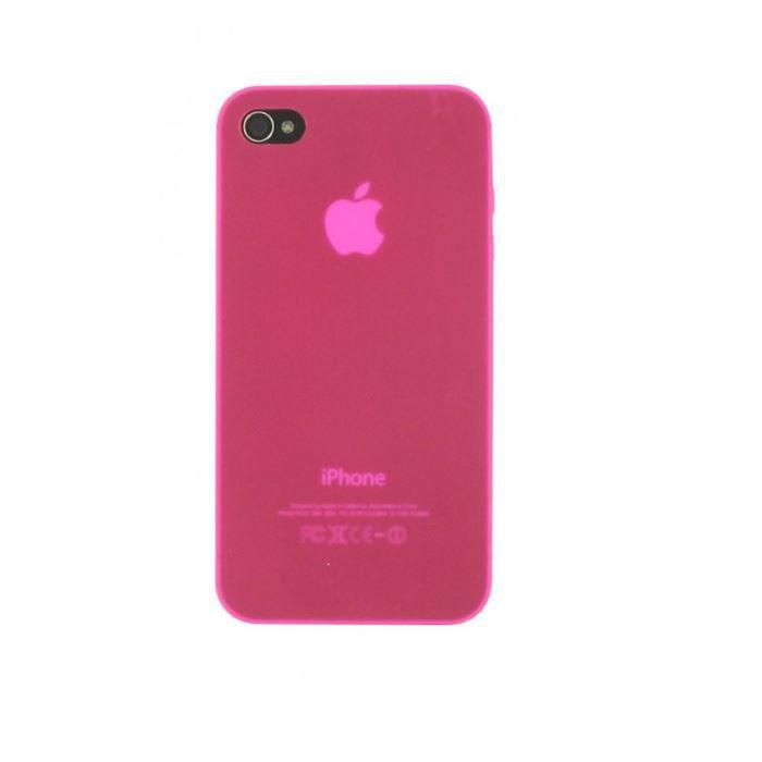 TNB Coque pour iPhone 5/ 5S + protection d'écran - Rose
