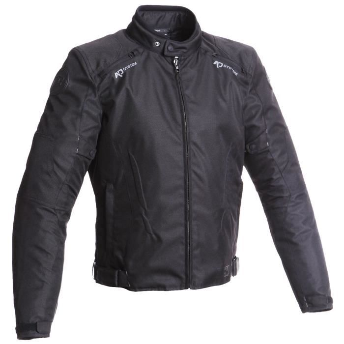 BERING Blouson Moto Greems Noir