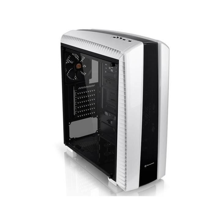 Thermaltake Boîtier PC Versa N27 - Snow Edition - Moyen Tour - Fenêtre
