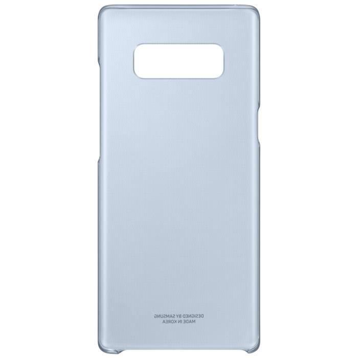 Samsung Coque transparente ultra fine Bleu foncé