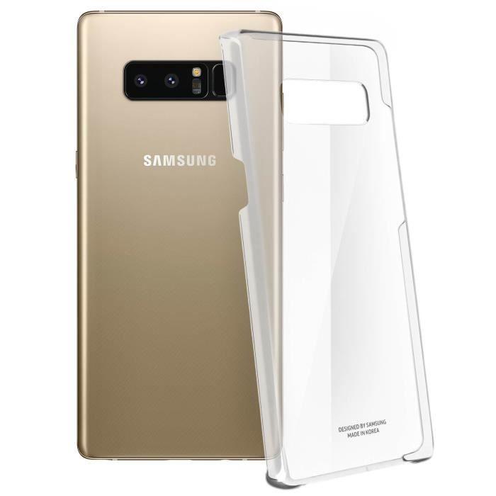 Samsung Coque transparente ultra fine Note8