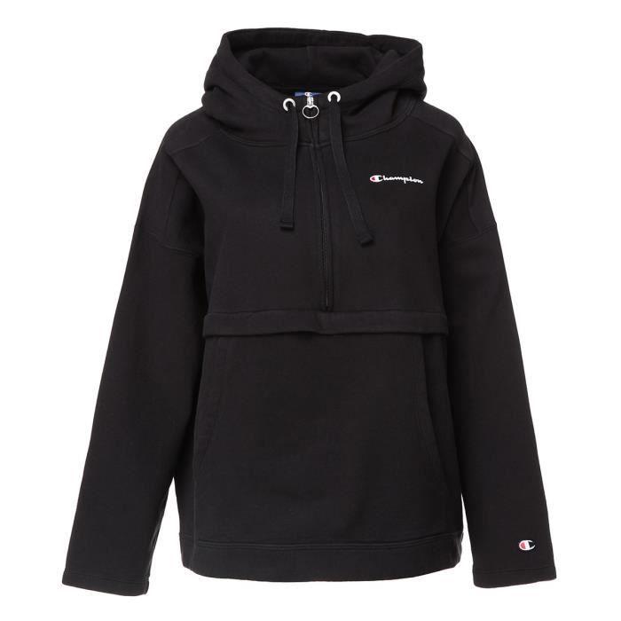 CHAMPION Sweatshirt à capuche - Femme - Noir