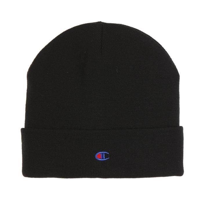 CHAMPION Bonnet - Noir et bleu
