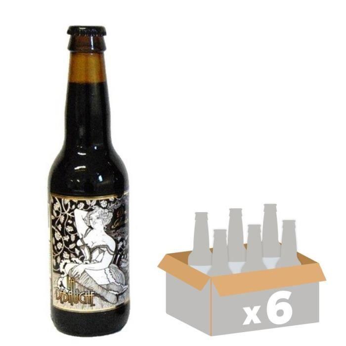 LA DEBAUCHE - Bière Demi-Mondaine - 33 cl x6 - 11 % - Fabriquée en FranceBIERE